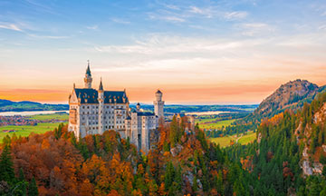 germany-bavaria-neuschwanstein-castle-sunset