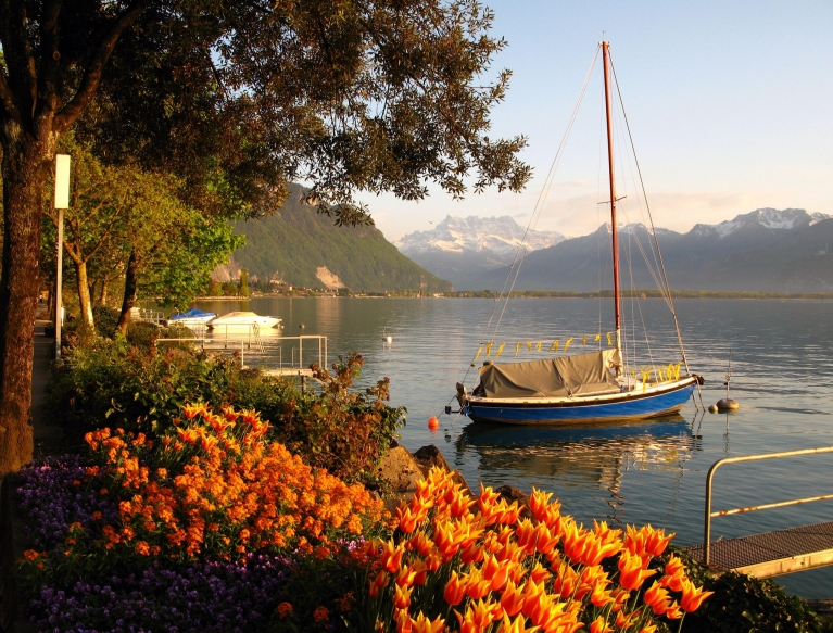Genfer See, Montreux