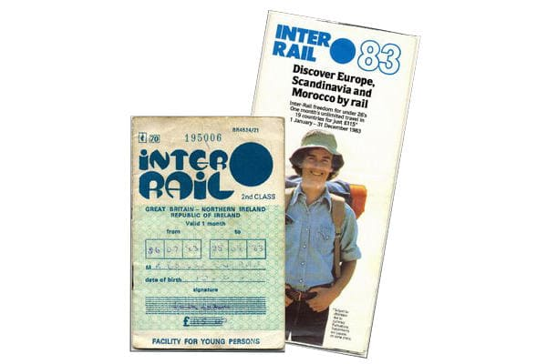 An Interrail Pass from 1983