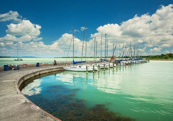 View of Lake Balaton