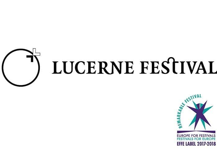 Events in Switzerland | Official postser of Lucerne Festival
