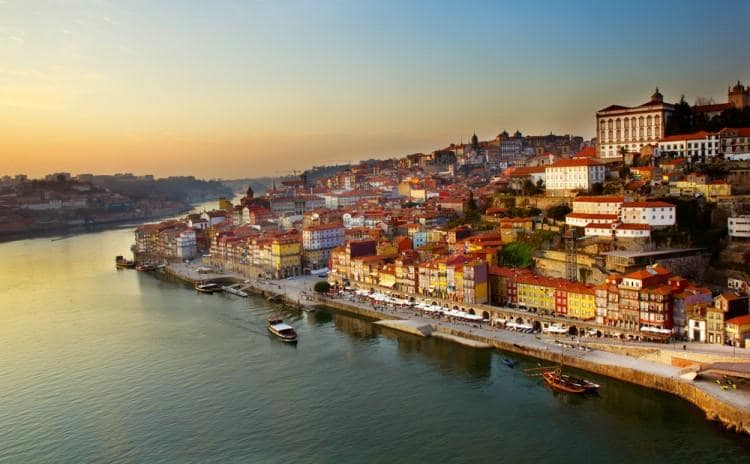 Vista de Oporto | Interrail Portugal Pass