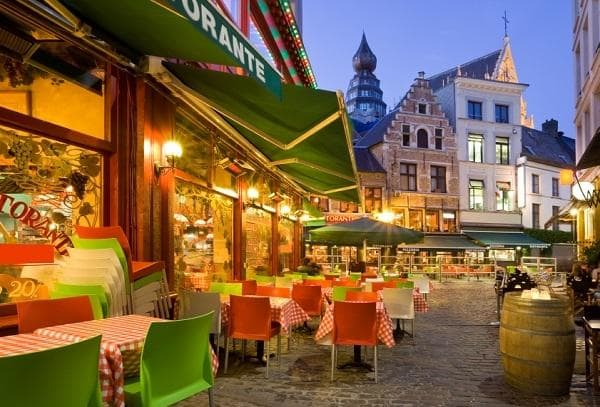 Restaurants in Antwerpen, Belgien