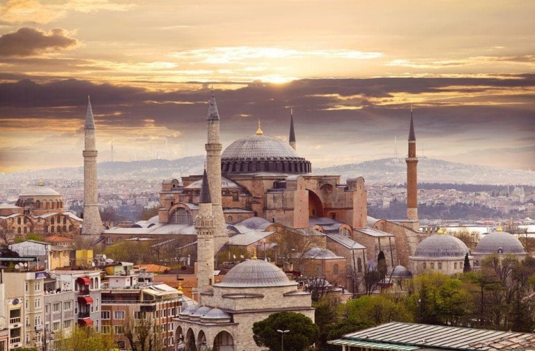 The 1500-year old Hagia Sophia