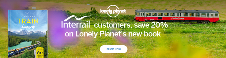 Interrail Lonely Planet Train Journeys 970x250